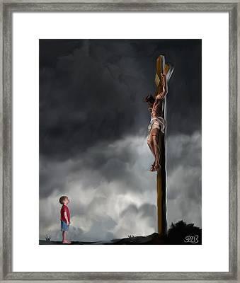 Yes Jesus Loves Me Framed Print