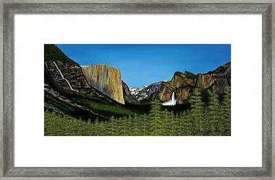 Yosemite Framed Print by Clinton Cheatham