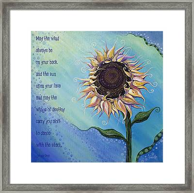 You Are My Sunshine Framed Print by Tanielle Childers