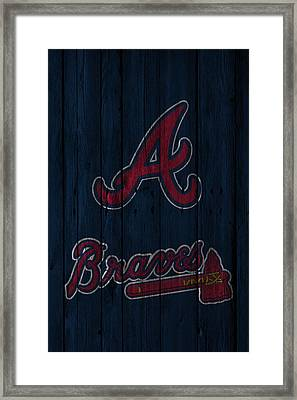 Atlanta Braves Framed Print by Joe Hamilton