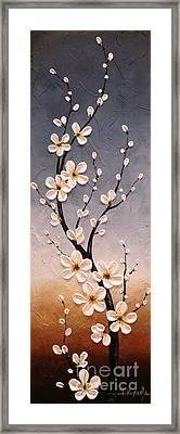 Cherry Blossoms Framed Print by Tomoko Koyama