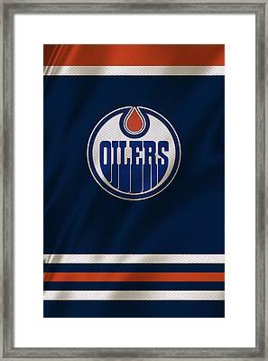Edmonton Oilers Framed Print by Joe Hamilton