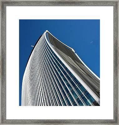 20 Fenchurch Street Skyscraper Framed Print by Carlos Dominguez