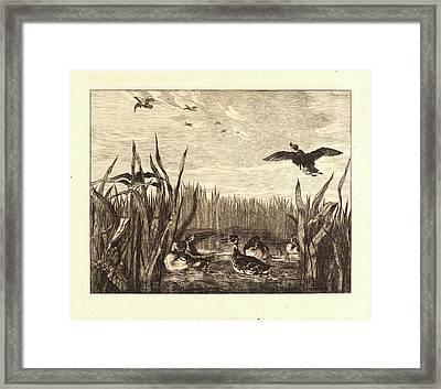 Félix Bracquemond French Framed Print