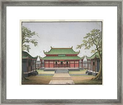 Honam Temple Framed Print