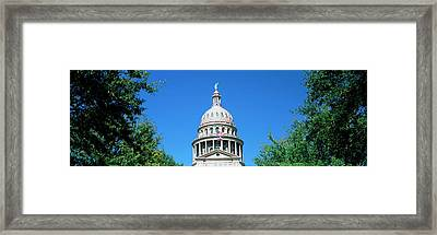 Low Angle View Of A Government Framed Print by Panoramic Images