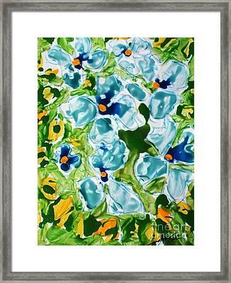 Miyoko Flowers Framed Print