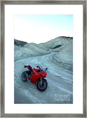 20 Mule Team Canyon Framed Print by AntiHero Panigale