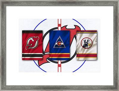 New Jersey Devils Framed Print