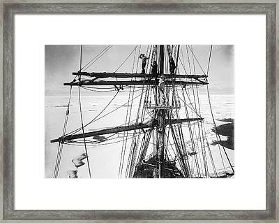 Terra Nova Antarctic Exploration Framed Print
