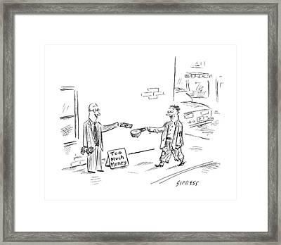 New Yorker August 6th, 2007 Framed Print
