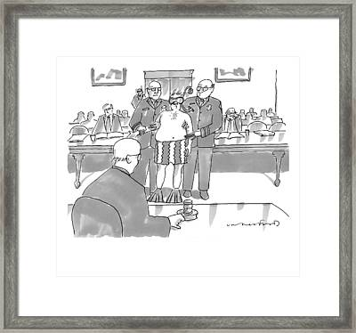 New Yorker July 6th, 2009 Framed Print
