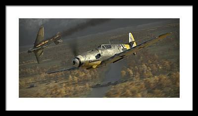 Luftwaffe Framed Prints