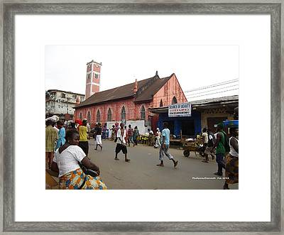 200 Year Old Methodist Church-sani Abacha Street  Framed Print by Mudiama Kammoh