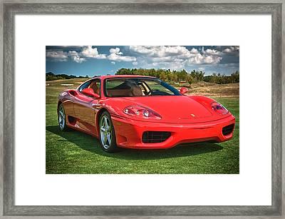 2001 Ferrari 360 Modena Framed Print