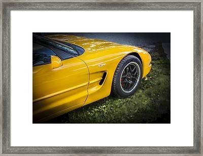 2002 Chevrolet Corvette Z06 Framed Print