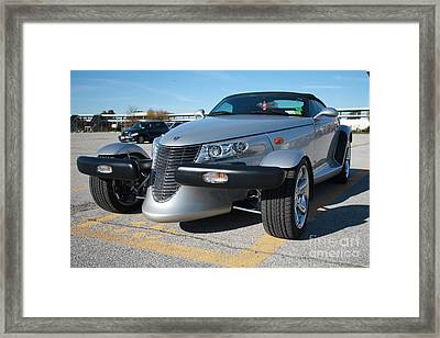 2002 Chrysler Convertible Prowler II Framed Print by John Telfer