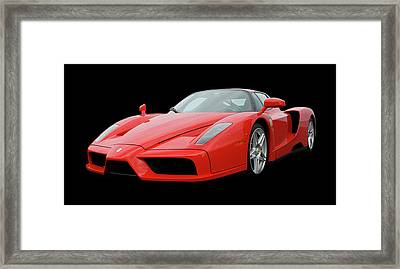 2002 Enzo Ferrari 400 Framed Print by Jack Pumphrey