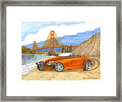 2002 Plymouth Prowler Framed Print