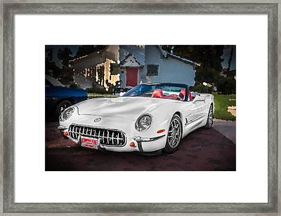 2003 Corvette Commemorative Edition 53ce  Framed Print
