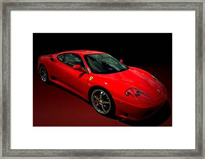 2004 Ferrari 360 Modena Framed Print