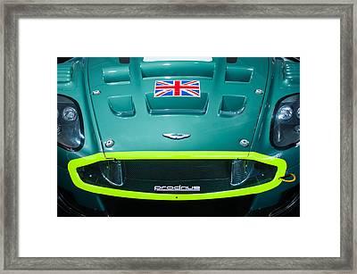2005 Aston Martin Dbr9 Framed Print by Jill Reger