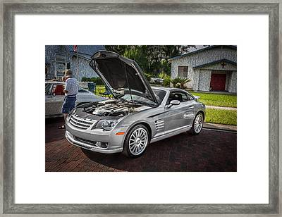 2005 Chrysler Supercharged Crossfire Srt6 Painted   Framed Print by Rich Franco