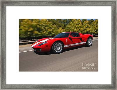 2005 Ford G T Framed Print