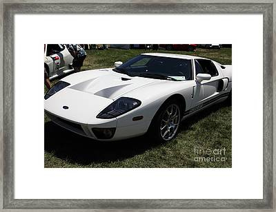 2005 Ford Gt 5d23508 Framed Print by Wingsdomain Art and Photography