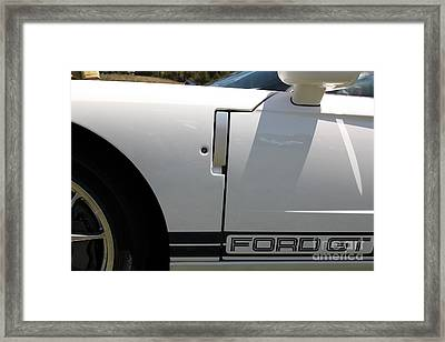 2005 Ford Gt 5d23514 Framed Print by Wingsdomain Art and Photography
