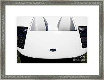 2005 Ford Gt 5d23515 Framed Print by Wingsdomain Art and Photography