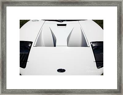 2005 Ford Gt 5d23516 Framed Print by Wingsdomain Art and Photography
