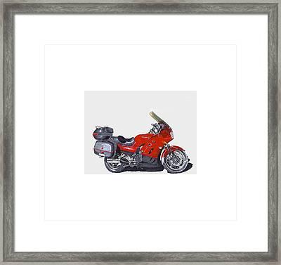 2006 Kawasaki Constilation Cruiser Framed Print by Jack Pumphrey