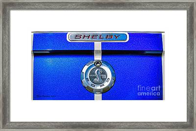 Framed Print featuring the photograph 2006 Shelby Mustang Gt by Trey Foerster
