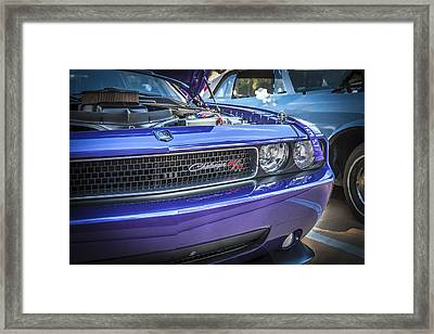 2008 Dodge Challenger Rt Framed Print by Rich Franco