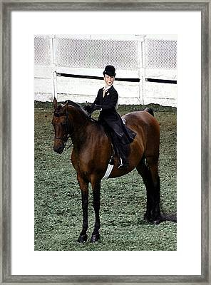 2008-f World Championship Horse Show - Louisville Ky Framed Print by Thia Stover