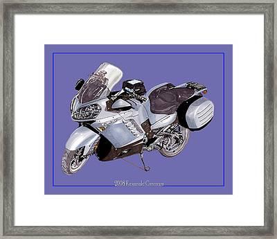 2008 Kawasaki Concours Framed Print by Jack Pumphrey