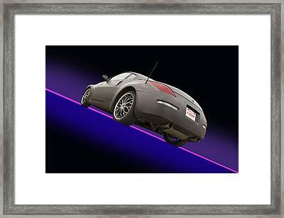 2008 Nissan Z350 'drifter' Framed Print by Dave Koontz