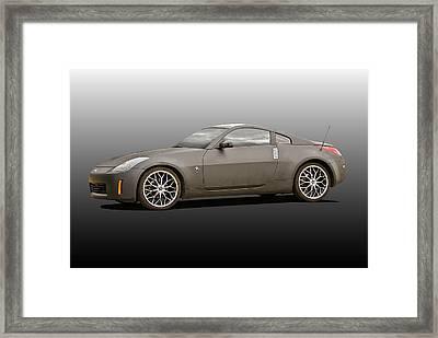 2008 Nissan Z350 'drifter' IIi Framed Print by Dave Koontz