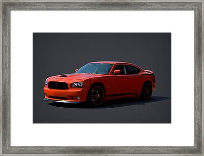 2009 Dodge Srt8 Super Bee Framed Print by Tim McCullough