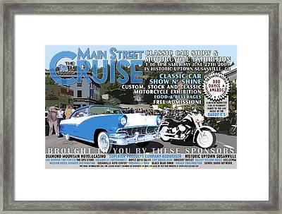 2009 Main Cruise Poster Framed Print