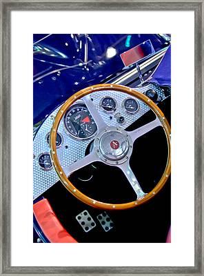 2010 Allard J2x Mk II Commemorative Edition Steering Wheel Framed Print by Jill Reger