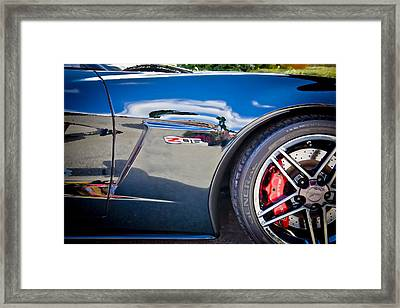 2010 Chevrolet Corvette Z06 Framed Print by Rich Franco