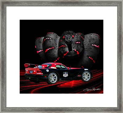 2010 Dodge Viper Framed Print by Sylvia Thornton