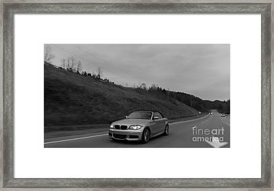 2011 Bmw 135 Ci Framed Print