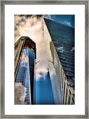 2011 Memorial New York City Framed Print