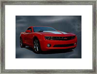 2012 Camaro Rs Framed Print by Tim McCullough