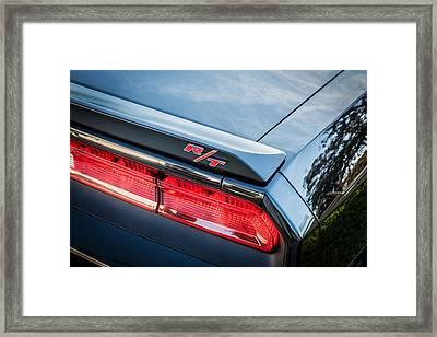 2012 Dodge Challenger Rt Hemi    Framed Print by Rich Franco