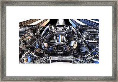 2012 Model Time Machine Framed Print