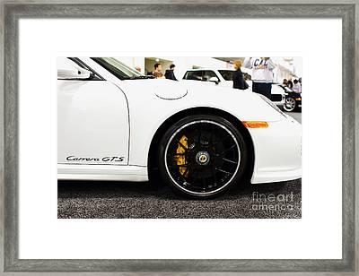 2012 Porsche 911 Carrera Gt . 7d9630 Framed Print